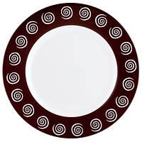 Тарелка суповая Luminarc Sirocco Brown H4886 (22,5 см/220 мл)