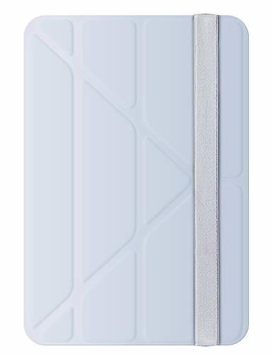 """Приятный чехол под сафьяновую кожу для планшета 7.9"""" OZAKI O!coat Slim-Y iPad mini 3 (Light gray) OC116LG"""