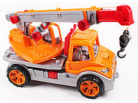 Машина пластмассовая Автокран 3695 Технокомп