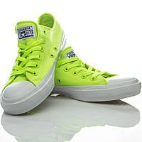 Кеды Converse Chuck Taylor All Star II (Volt Green/White)