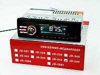 Автомагнитола Pioneer JD-344 ISO USB+SD+FM+AUX+ пульт (4x50W)