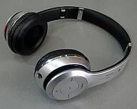 Блютус гарнитура S460 Серебро (Bluetooth+SD card+FM+with cable)