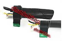 Ручка газа с клавиша кнопка универсальная к электро велосипедам