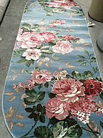 Ковер напольный овальный цветы 0,6х1,1