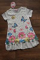 Детское платье Летняя фантазия. Размер 2 - 10 лет Разные цвета