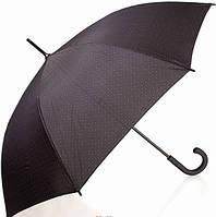 Классический мужской зонт-трость, полуавтомат DOPPLER (ДОППЛЕР) DOP740867-1 черный