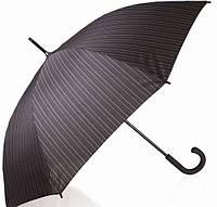 Солидный мужской зонт-трость, полуавтомат DOPPLER (ДОППЛЕР) DOP740867-2 черный