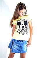 Детская футболка с надписью