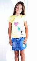 Красивая детская футболка