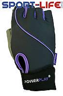 Перчатки для фитнеса PowerPlay атлетические