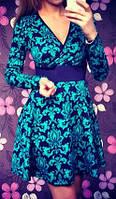 Стильное платье короткое с пышной юбкой (арт. 148235910)