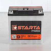 """Аккумулятор для мотоцикла """"Starta"""" 12 v"""