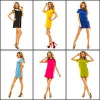 Яркое  летнее платье по низким ценам