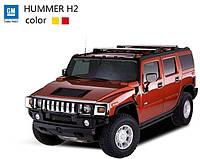 Машинка микро радиоуправляемая 1:43 лиценз. Hummer H2 (красный, желтый)