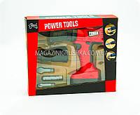 Набор строительных инструментов для детей «Перфоратор с двумя насадками»