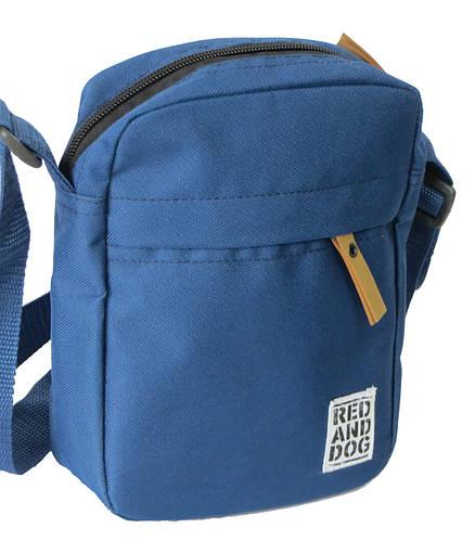 Городская сумка на плечо Red and Dog Tomen синий ВхШхГ: 20х16х6 см.