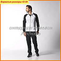 Спортивные костюмы Adidas | цвет белый с черным