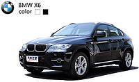 Машинка микро радиоуправляемая 1:43 лиценз. BMW X6 (черный, белый)