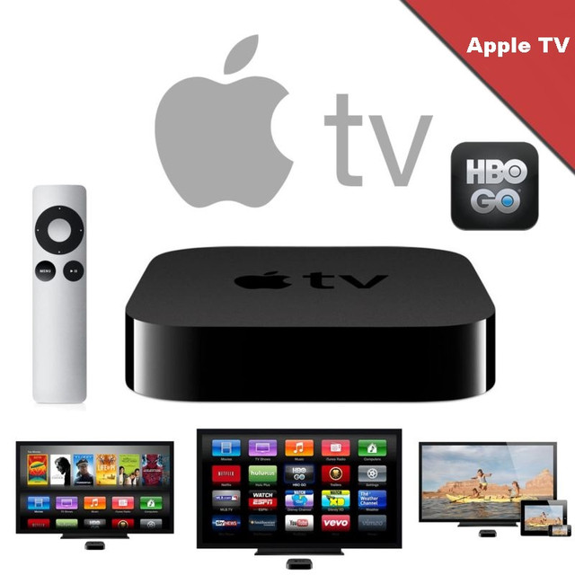Уникальная телевизионная приставка Apple TV MD199 HD 1080p