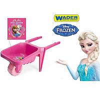Тачка садовая детская Disney Frozen