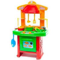 Кухня детская игрушечная с посудкой Orion