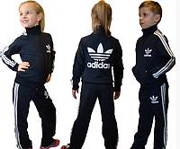 Детский спортивный костюм для мальчиков и девочек адидас из трикотажа хорошее качество