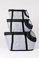 "AnimАll  сумка для собак   Сумка ""ZOOM"" №3  (45 * 27 * 30см) серая, фото 1"