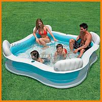Бассейн надувной семейный отдых 56475