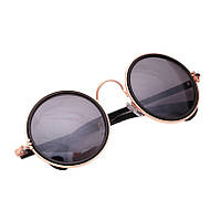 Новинка мужчинам и женщинам  винтаж круглые объектив солнцезащитные очки