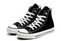 Кеды Converse All Star высокие черно-белые