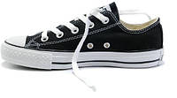 Кеды мужские Converse All Star низкие черно-белые