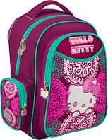 Рюкзак школьный детский KITE Hello Kitty 511 2 отделение, 3 кармана (1-4 классы)