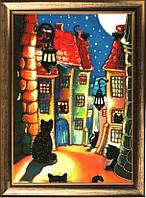 """Набор для вышивания бисером """"Ночной город"""""""