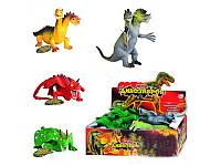 """Животные резиновые 7208 """"Динозавры"""""""