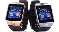 [ Умные Bluetooth часы-телефон DZ09 с камерой ] Smart Watch сенсорные блютуз часы водонепроницаемые