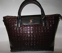 Женская сумка под рептилию