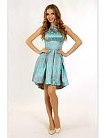 Платье №0611, голубое, размер 38. Цена розницы 1620 гривен.