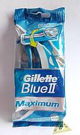 Gillette blue 2 maximum одноразовые станки для бритья 8 шт