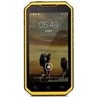 Защищенный смартфон с рацией Land Rover S6 Yellow Android 4.4 3800 mah