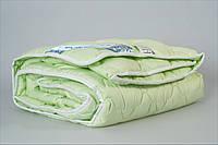 """Одеяло стеганое 200Х220 зеленое """"Hollowfiber"""" Мerkys (Украина)"""