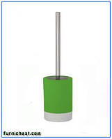 Щетка (ершик) для унитаза Флоренция зеленая керамическая