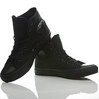 Кеды Converse All Star высокие (Черные)