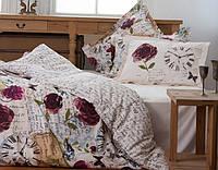 Комплект постельного белья KARACA HOME винтаж PINK TIME РОЗОВЫЙ