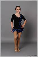"""Костюм для танцев """"Ципа"""" (в наличии костюм с синей отд. р.30,черна юбка р.30,черная блуза р.34)"""