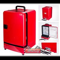 Автомобильный холодильник термоэл. на 14 л. / DC/AC 12V/24V/220V / 48W