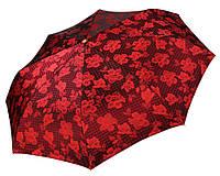 Женский зонт Три Слона Цветы жаккард ( полный автомат ) арт.129-12