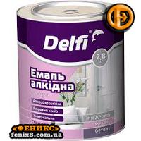 Эмаль алкидная Delfi ПФ-115П (2,8кг) Белая глянцевая