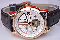 Мужские часы MontBlanc Villeret 1858 класс ААА механика с автоподзаводом