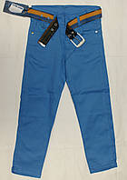 Штаны джинсы для мальчика 100% хлопок 9-12 лет
