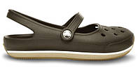 Сандалии женские Crocs (кроксы, шлепки) резиновые